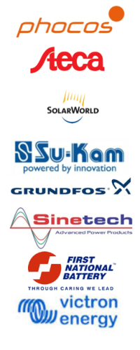 Here you can see some of our main partners - for more information just click